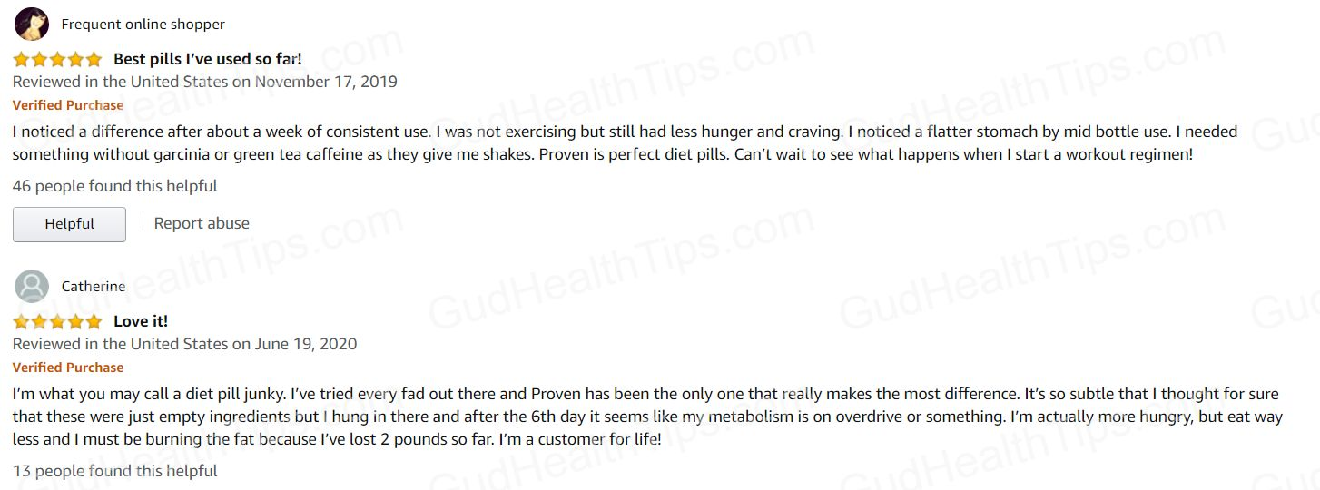 ultra proven weight loss reviews