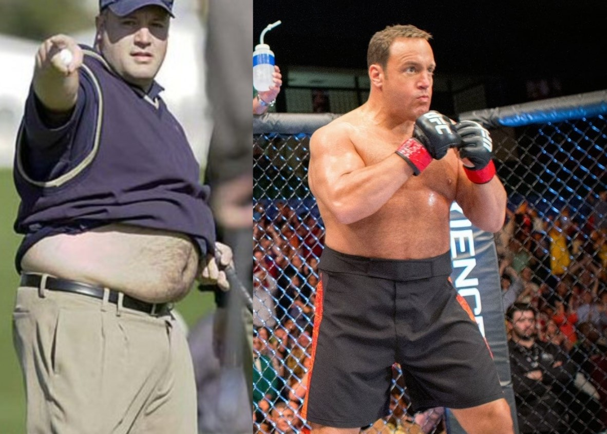 Kevin James before and after weight loss
