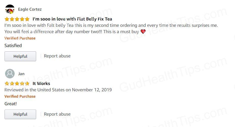 21 day flat belly fix tea reviews