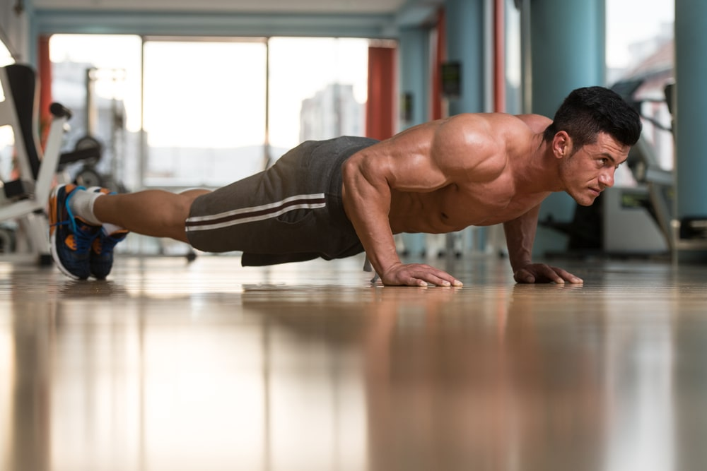 push ups for one punch man workout