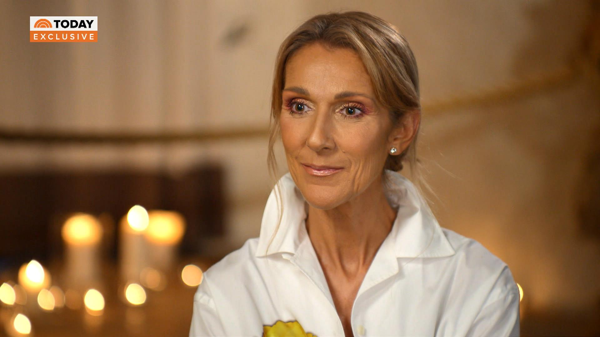 Celine Dion Interview About Weight Loss
