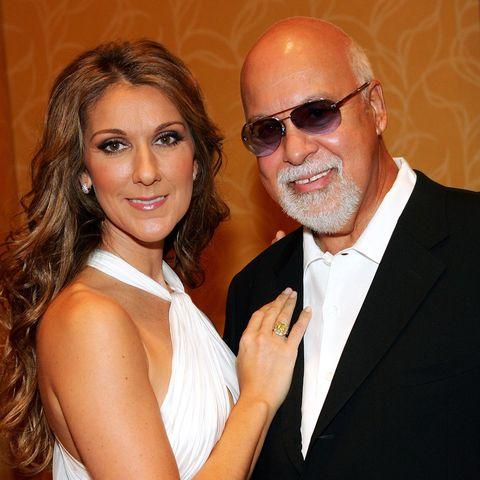singer-Celine Dion and her husband Rene Angelil