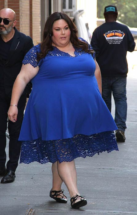 Chrissy Metz Fat Lady Before Weight Loss